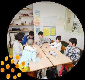 こどもたちに英会話を習うことを重視した学べる環境を提供します。