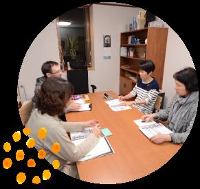 英会話を習うことを重視した学べる環境を提供します